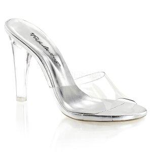 průhledné pantoflíčky Clearly-401-c