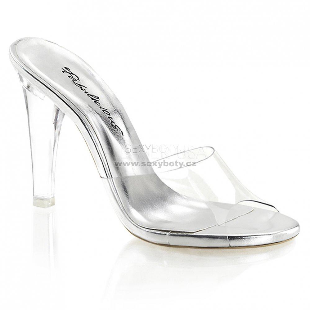 průhledné pantoflíčky Clearly-401-c - Velikost 36   SEXYBOTY.cz 10e51e7ad7