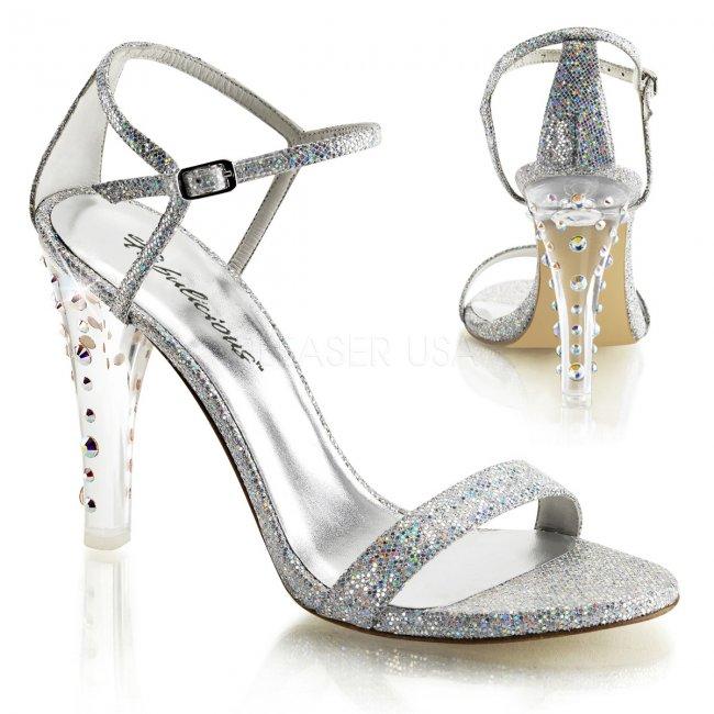 dámské sandále Clearly-425-smcg - Velikost 40
