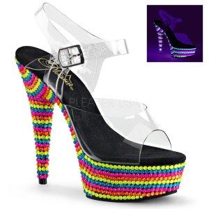 UV sandálky na platformě Delight-608rbs-c