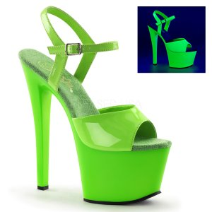 zelené sandálky s UV efektem Sky-309uv-ngn 9593e2f3a0