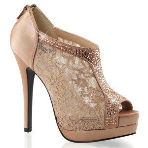 dámské saténové boty Bella-26-bhsa