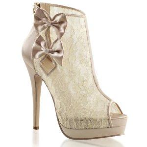 dámské saténové boty Bella-28-chasa