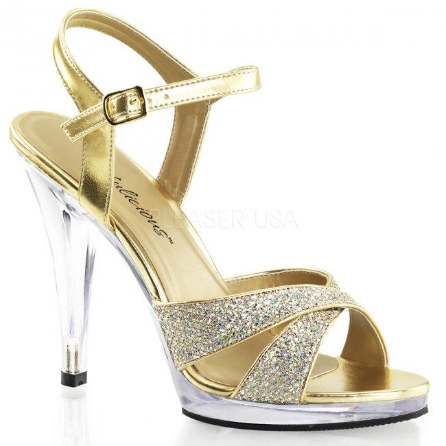 dámské páskové sandály Flair-419g-gc - Velikost 46