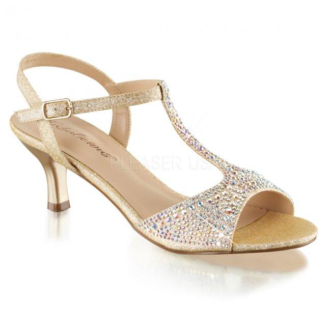dámské společenské sandálky Audrey-05-nufa - Velikost 36