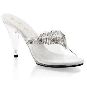 dámské pantoflíčky s kamínky Caress-401-5-c