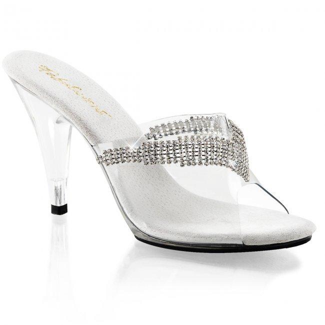 dámské pantoflíčky s kamínky Caress-401-5-c - Velikost 35