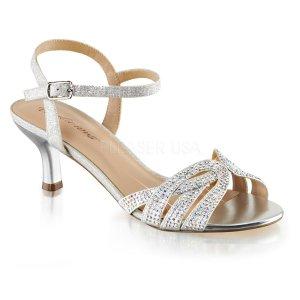 stříbrné dámské společenské sandálky Audrey-03-sfa