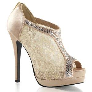 dámské saténové boty Bella-26-chasa