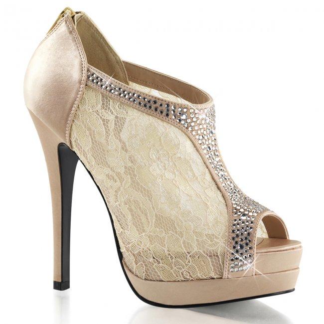 dámské saténové boty Bella-26-chasa - Velikost 40