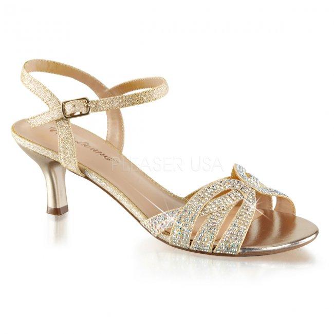 dámské společenské sandálky Audrey-03-nufa - Velikost 37