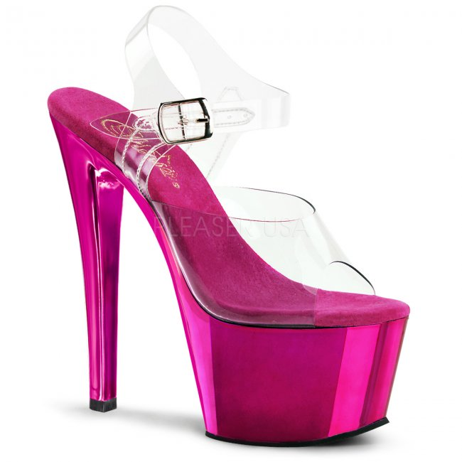 vysoké boty na podpatku Sky-308-chpch - Velikost 39