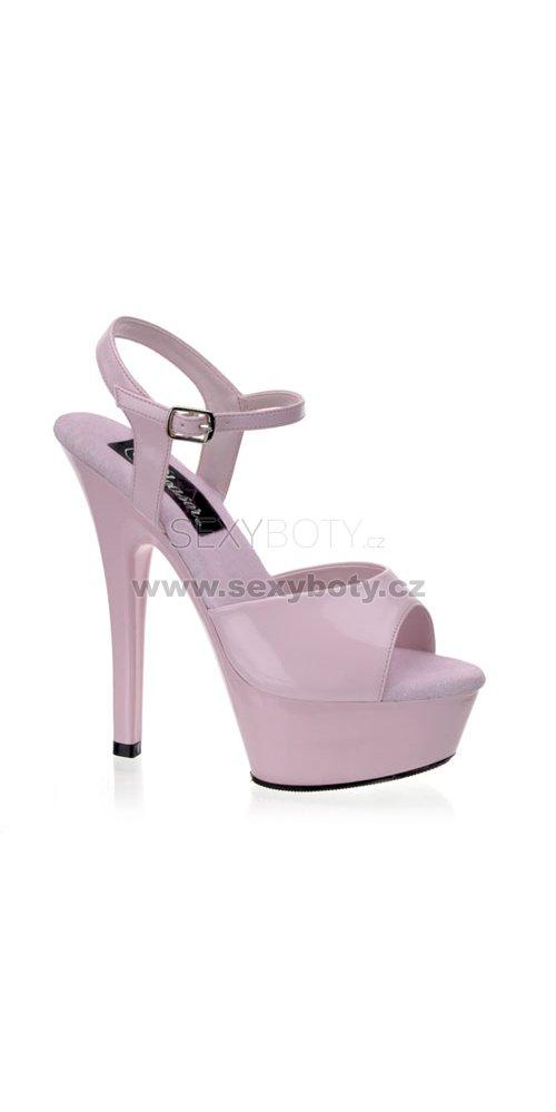 Kiss-209BP krásné sexy boty na podpatku a platformě - Velikost 44 ... c265fa89ed