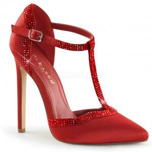 červené společenské lodičky Sexy-25-rsa