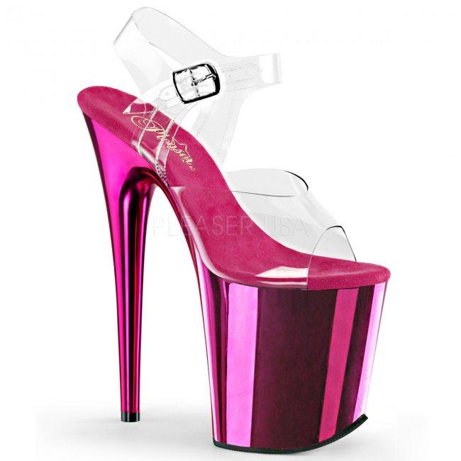 boty na extra vysokém podpatku Flamingo-808-chpch - Velikost 42
