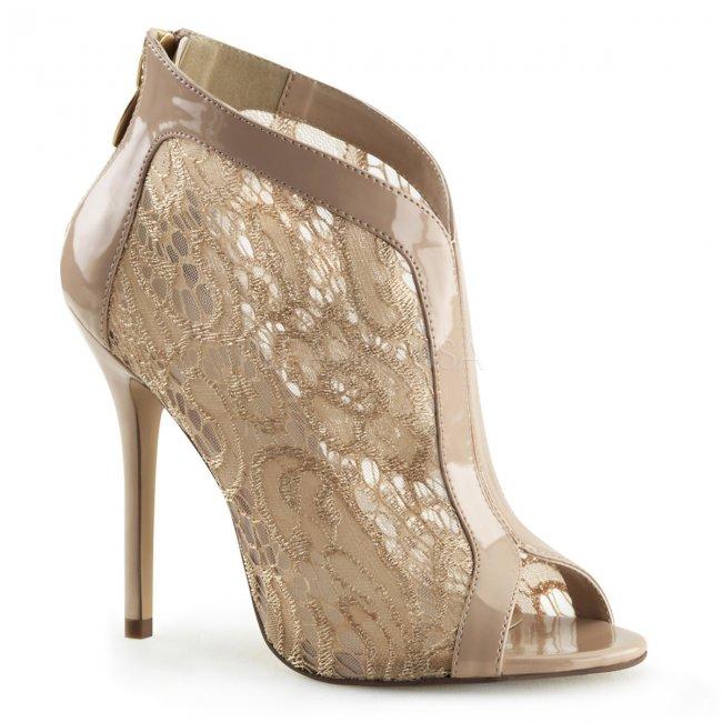 dámské krajkové sandálky Amuse-48-nd - Velikost 38