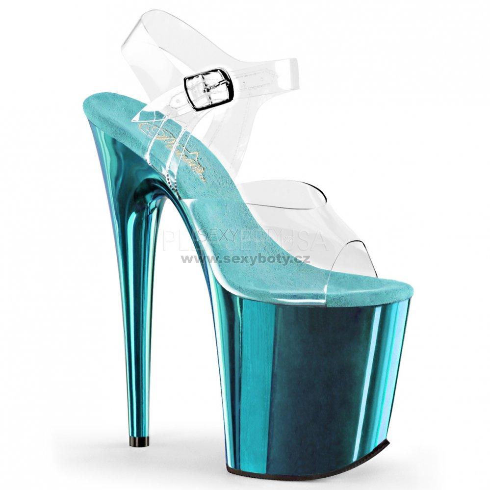 4a3e3c40eb6 boty na extra vysokém podpatku Flamingo-808-ctech - Velikost 42 ...