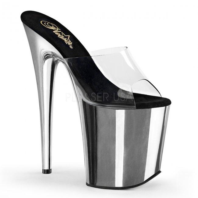 boty na extra vysokém podpatku Flamingo-801-csch - Velikost 36
