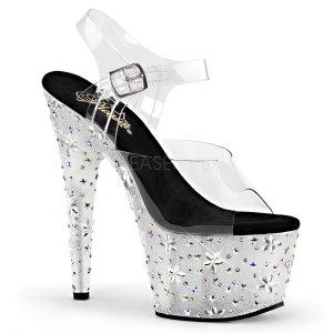 luxusní vysoké sandále s kamínky Starbloom-708-c