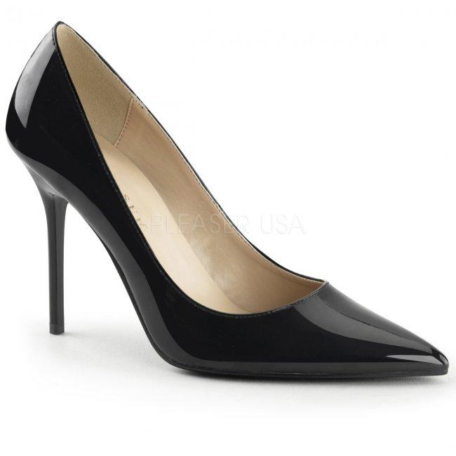 černé dámské lodičky Classique-20-b - Velikost 36