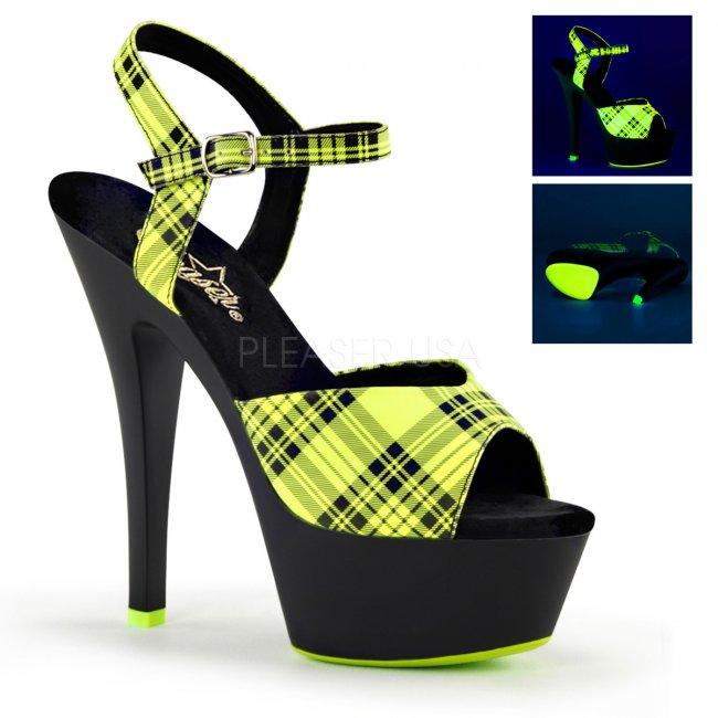 UV dámské sandálky na platformě Kiss-209pl-nlmpub - Velikost 39