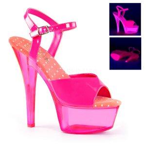 ružové UV dámské sandálky Kiss-209uvt-nhp