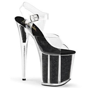 boty na extra vysokém podpatku Flamingo-808g-cb