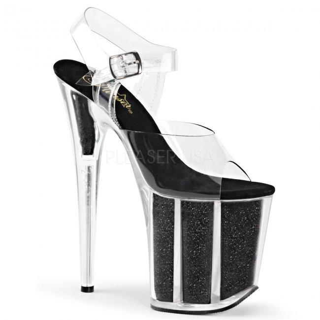 boty na extra vysokém podpatku Flamingo-808g-cb - Velikost 42