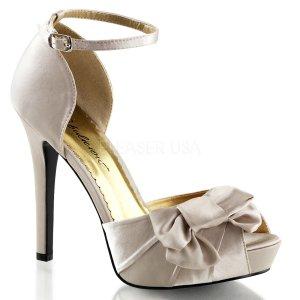 saténové sandálky Lumina-36-chasa
