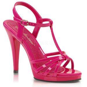 dámské růžové páskové sandálky Flair-420-hp