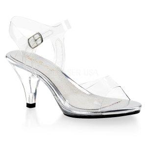dámské páskové průhledné sandálky Belle-308-c