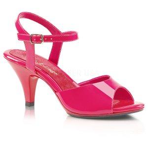 růžové dámské sandálky Belle-309-hp