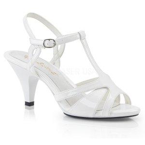 dámské svatební boty Belle-322-w