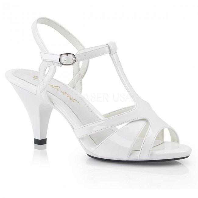 dámské svatební boty Belle-322-w - Velikost 35