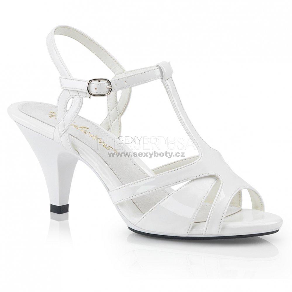 d5f299a0c87 dámské svatební boty Belle-322-w - Velikost 42   SEXYBOTY.cz