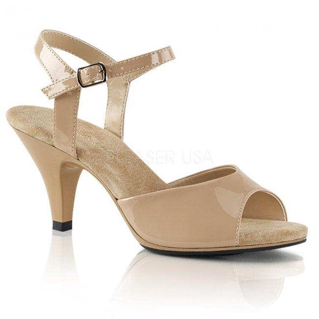 dámské páskové sandálky Belle-309-nd - Velikost 45