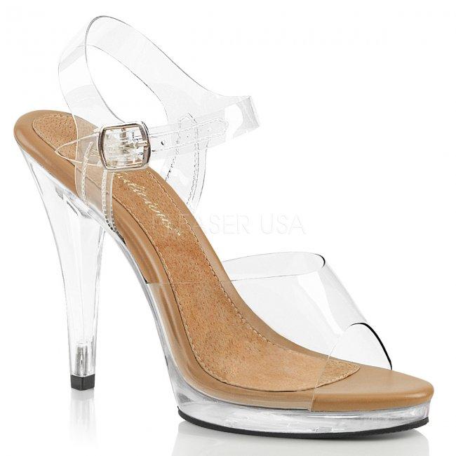 dámské páskové sandálky Flair-408-ctc - Velikost 45