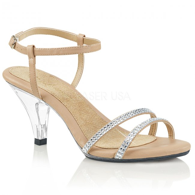 dámské páskové sandálky Belle-316-ndpuc - Velikost 35