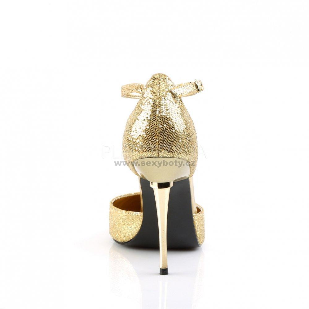 57320a10b720 zlaté dámské lodičky s glitry Appeal-21-ggwv - Velikost 35   SEXYBOTY.cz