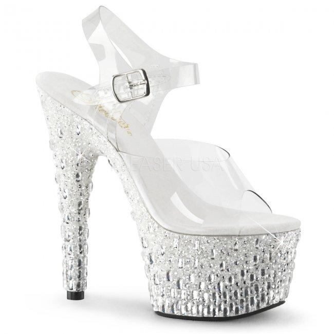 luxusní sandály na vysoké platformě Adore-708mr-5-cws - Velikost 36