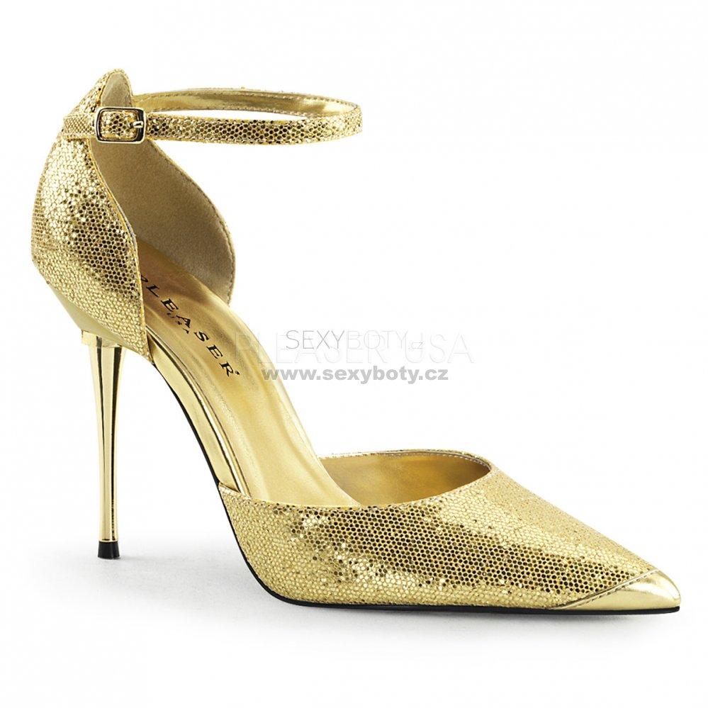 970b183c2b1 zlaté dámské lodičky s glitry Appeal-21-ggwv - Velikost 37   SEXYBOTY.cz