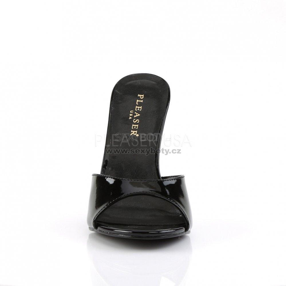 černé dámské pantoflíčky Classique-01-b - Velikost 40   SEXYBOTY.cz f027fe4c1d