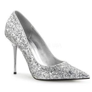 dámské stříbrné lodičky s glitry Appeal-20g-sg