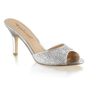 dámské stříbrné pantoflíčky Lucy-01-sgfa