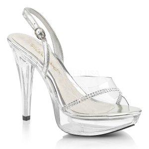 průhledné dámské sandálky Cocktail-556-c