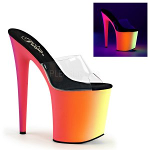extra vysoké UV pantofle na platformě Rainbow-801uv-c