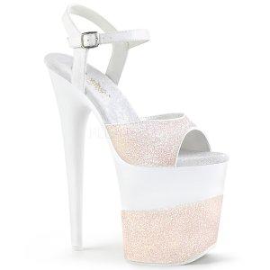 extra vysoké dámské boty s glitry Flamingo-809-2g-wg