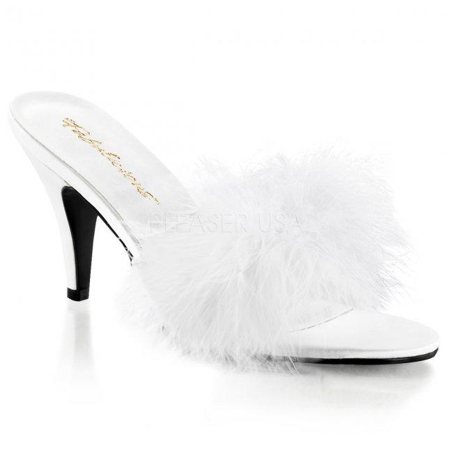 dámské bílé erotické boty Amour-03-wsat - Velikost 43