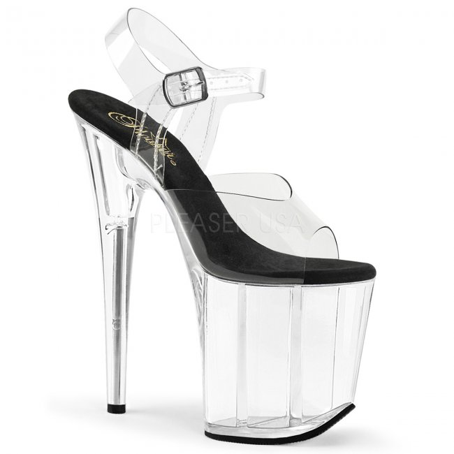 extra vysoké dámské boty na platformě Flamingo-808-cbc - Velikost 42