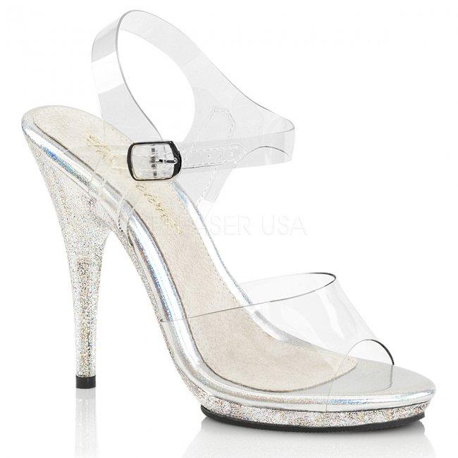 soutěžní boty na fitness s glitry Poise-508mg-c - Velikost 37